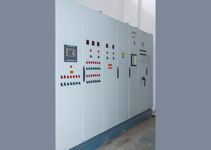 PlC based panel board for operation of plant and machinery in cold storage