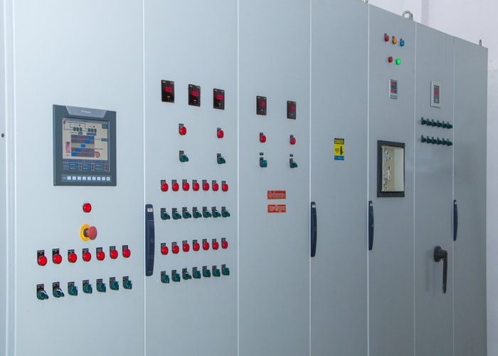 PLC based panel board