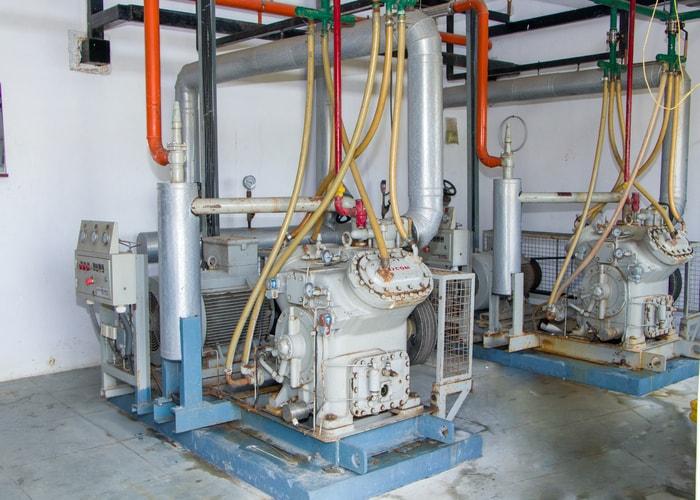 Compressor in Cold storage